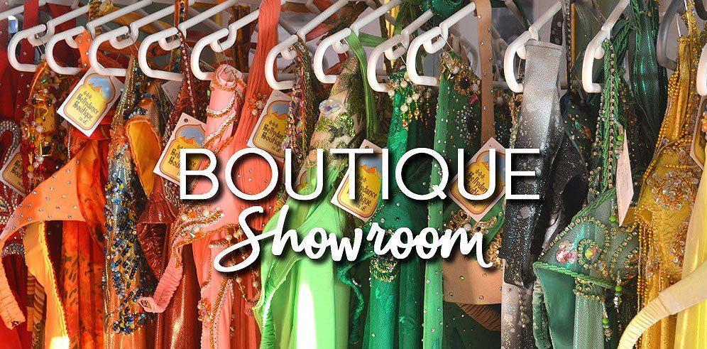 Bellydance Boutique London Showroom