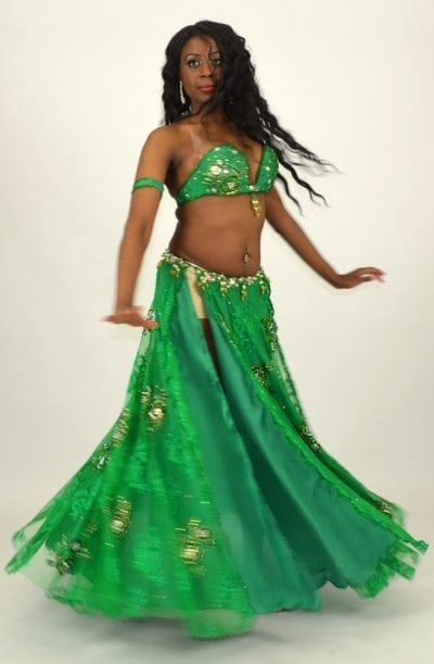 Eman Zaki Costume - Emerald Enchantress