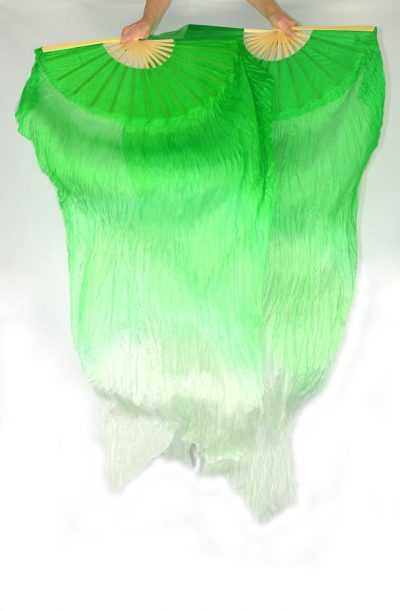 Fan Veils Green to Light