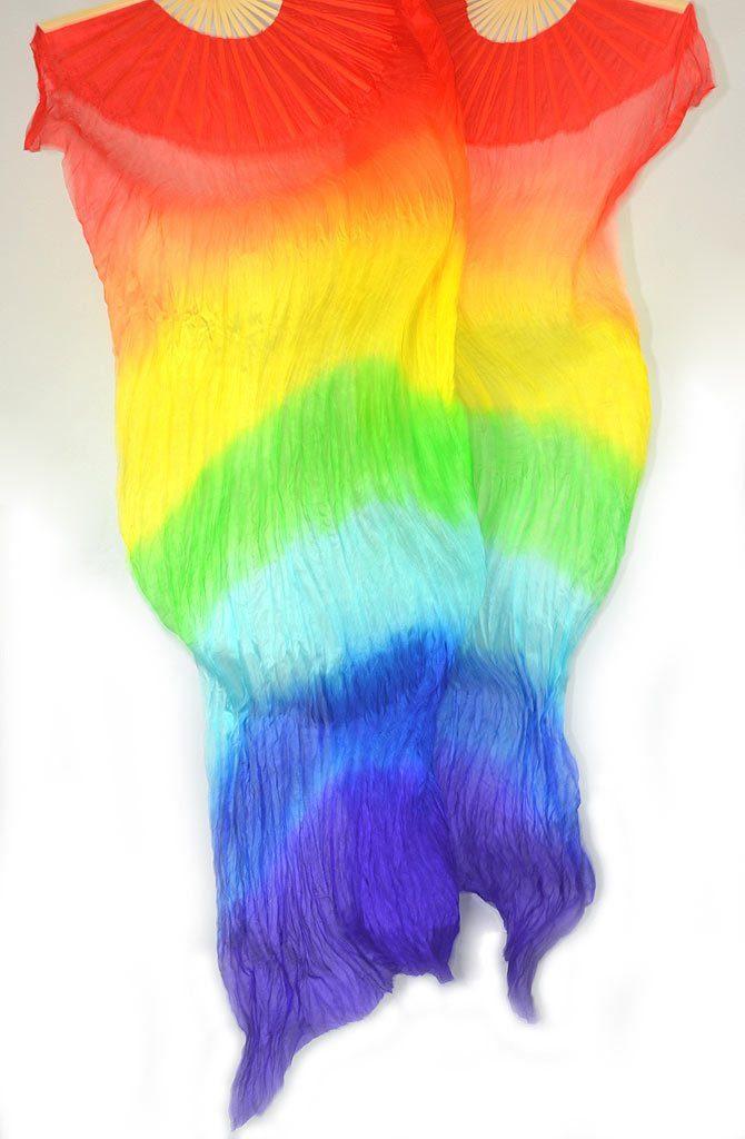 Fan Veils Rainbow