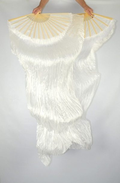 Fan Veils White