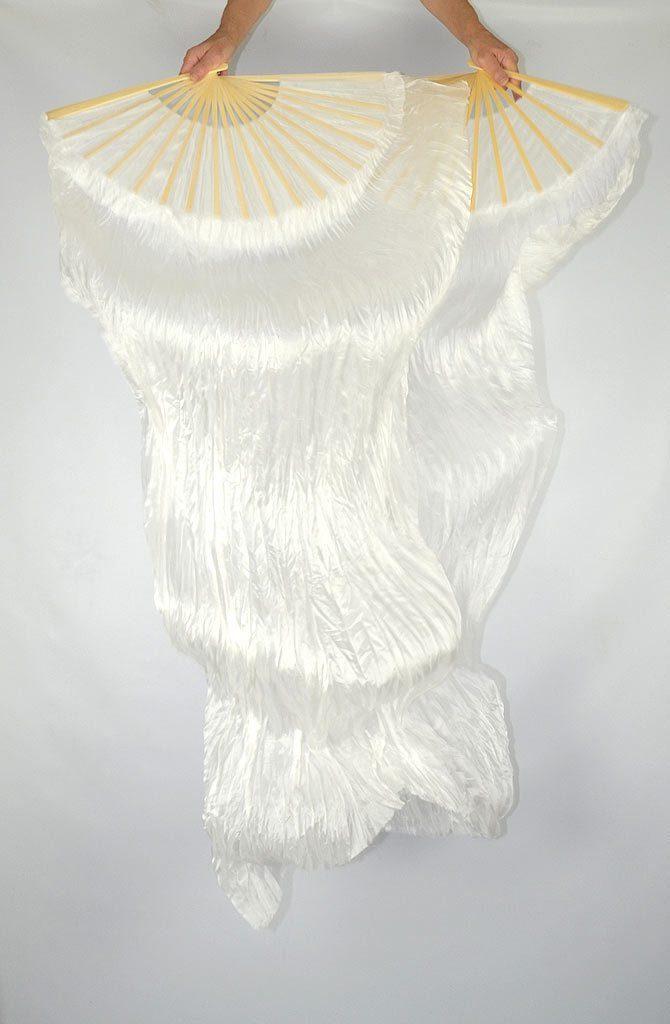 Fan Veils White