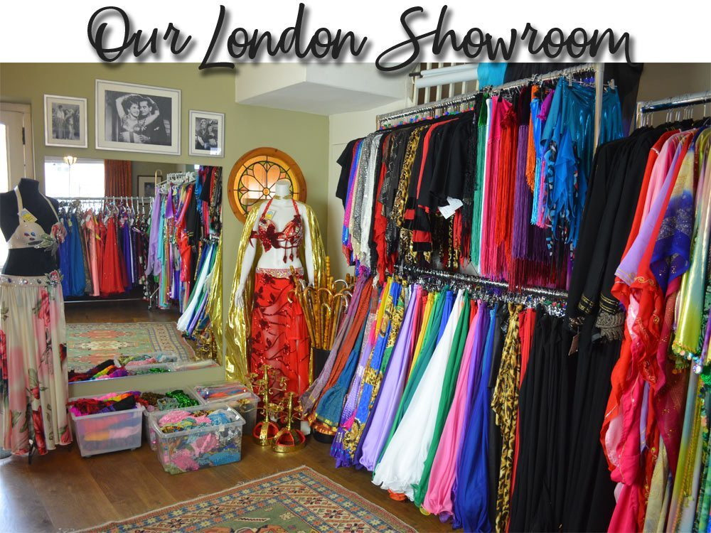 Bellydance Boutique Belly Dance Costume London Showroom