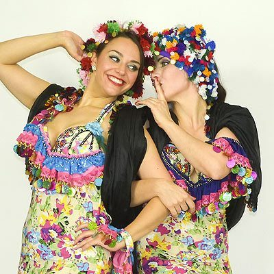 Belly Dance Folk Costumes