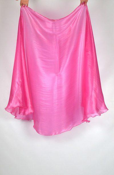 Semi Circular Veil Bubblegum Pink