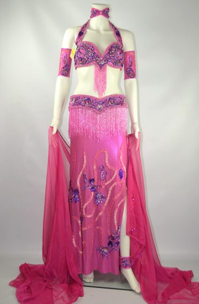 Belly Dance Costume - Pink & Purple Passion