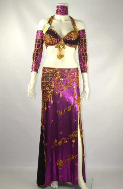 Belly Dance Costume - Purple Haze Delight
