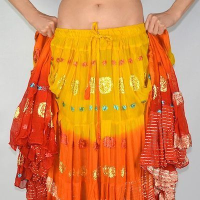 Belly Dance Skirts - Tribal - Gypsy