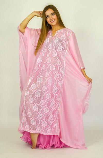 Short Khaleegi Thobe - Pink