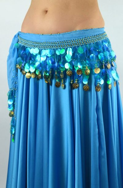 Belly Dance Starter Belt - Turquoise