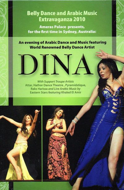 Belly Dance DVD - Dina - Live in Concert