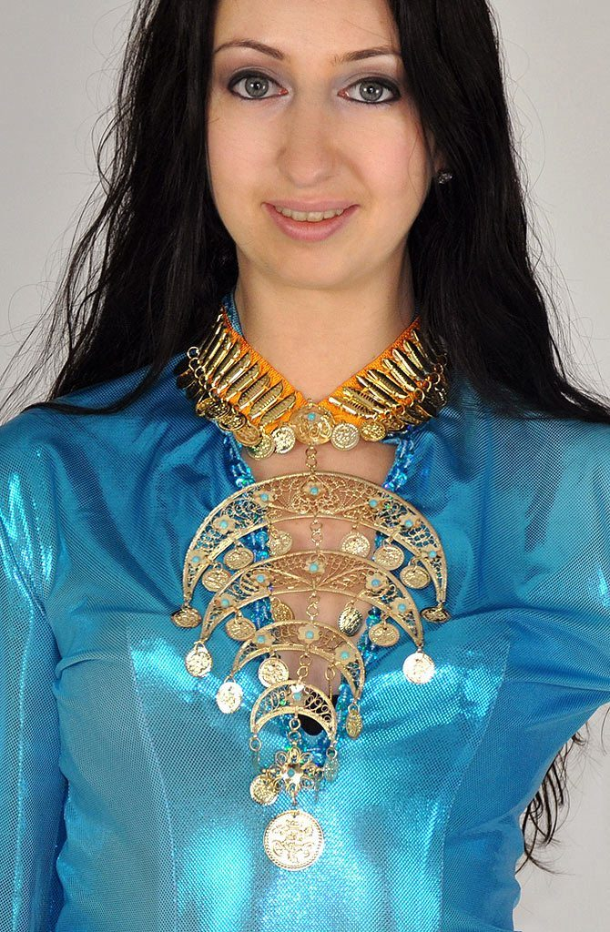 Dowry Necklace - Gold