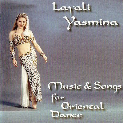 Belly Dance CD - Layali Yasmina