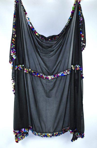 Melaya -Black & Multi-Coloured