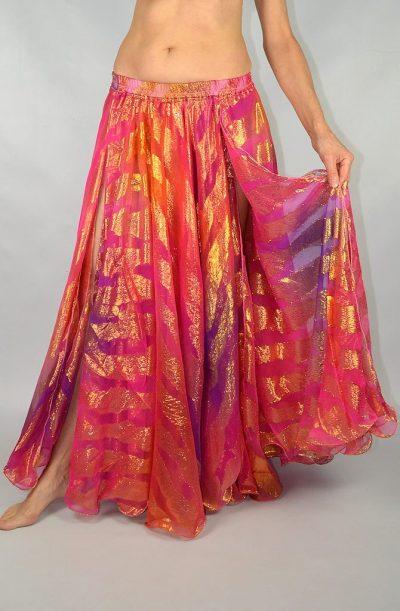 Shimmer Skirt - Pink & Orange