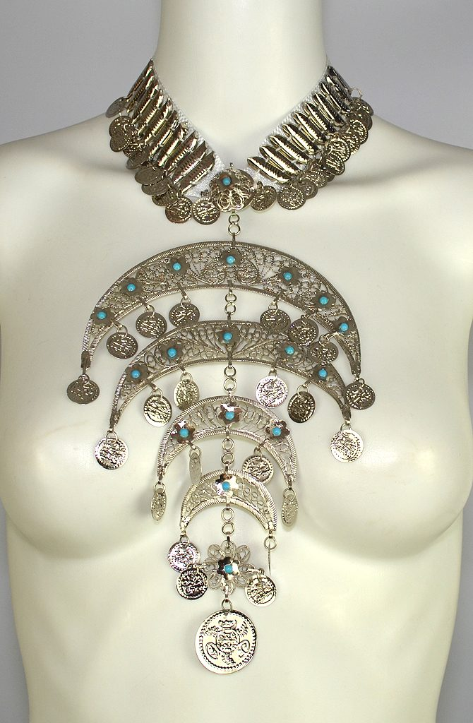 Dowry Necklace - Silver