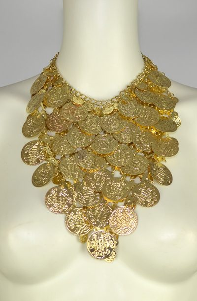 Large Coin Necklace