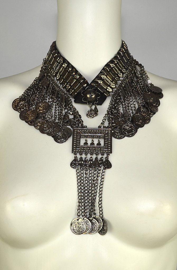 Dark Silver Necklace