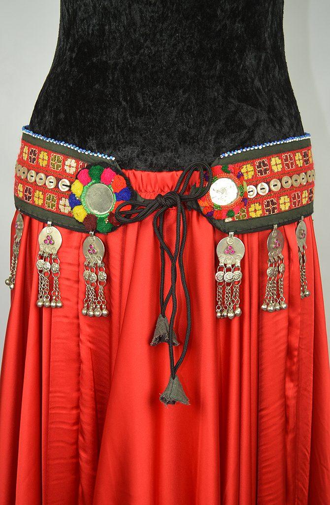 Tribal Belt - 2 Mirror & Buttons