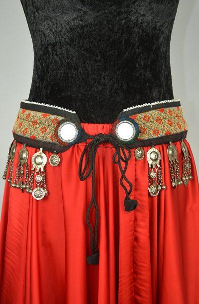 Tribal Belt - 3 Mirror Brocade