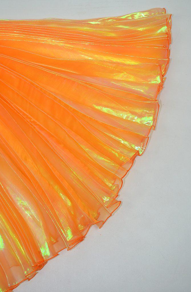 Bellydance Ises Wings Iridescent - Orange