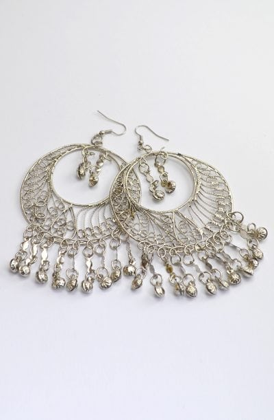 Egyptian Earrings - Large Filigree