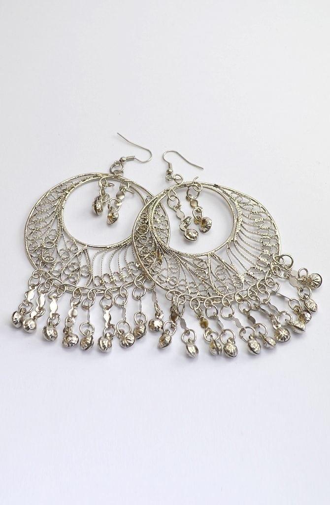 Egyptian Earrings - Large Filigree