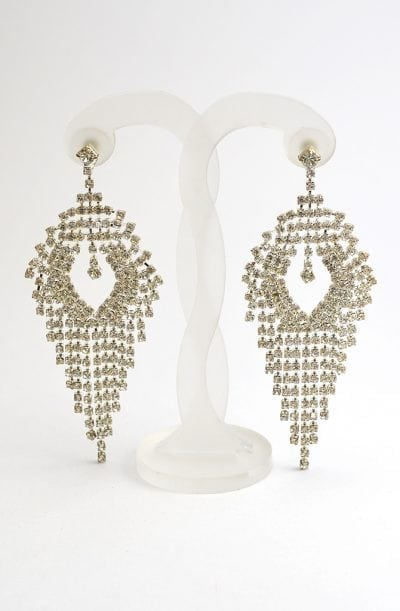 Diamanté Earrings - Delicate Diamanté