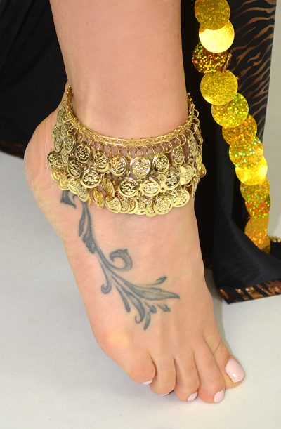 Egyptian Coin Anklets