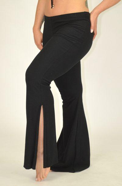 Dance Pants - Cotton Lycra - Black