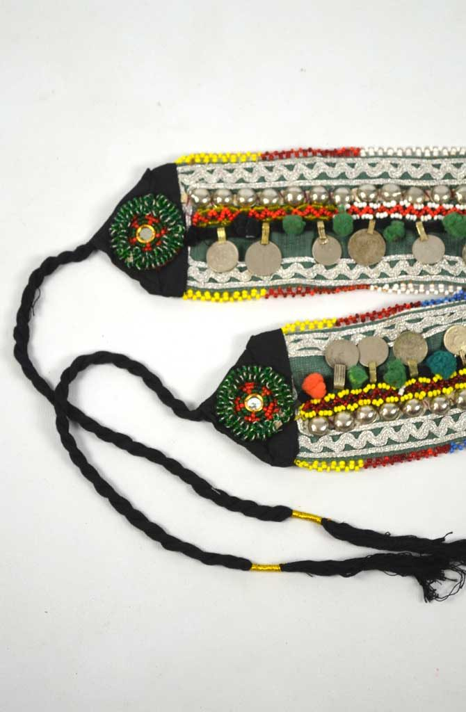 Tribal Belt - Pom Pom & Coin - Style 2