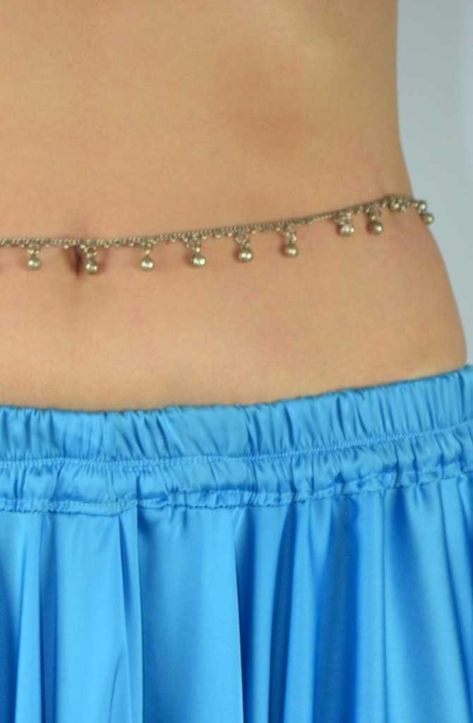 Belly Chain Little Bells - Silver
