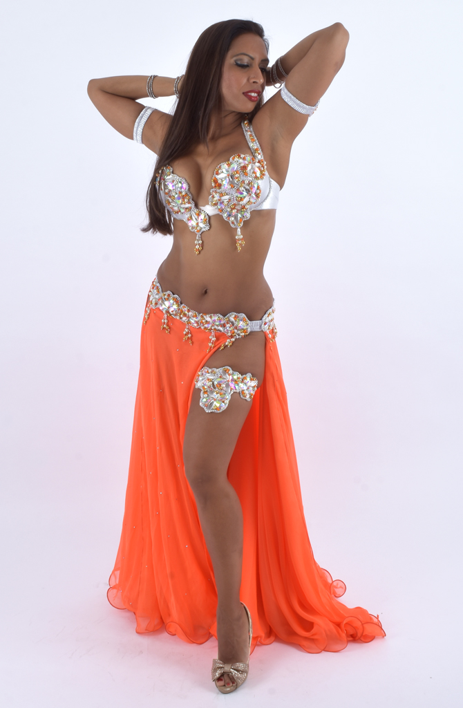 e0e45183ad2a8 Belly Dance Costume - Tangerine Dream by Eman Zaki | Bellydance ...