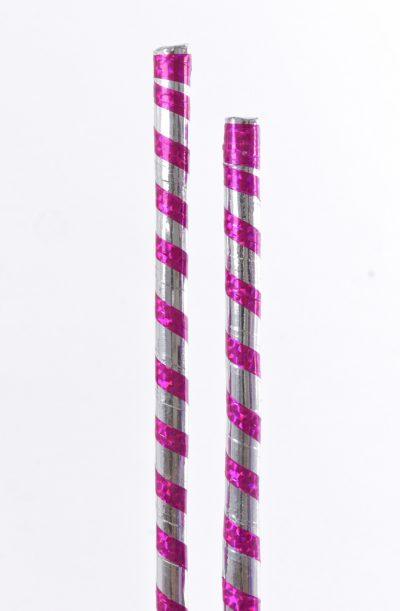 Saidi Stick - Pink & Silver
