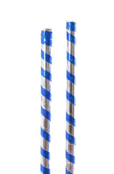 Saidi Stick - Blue & Silver