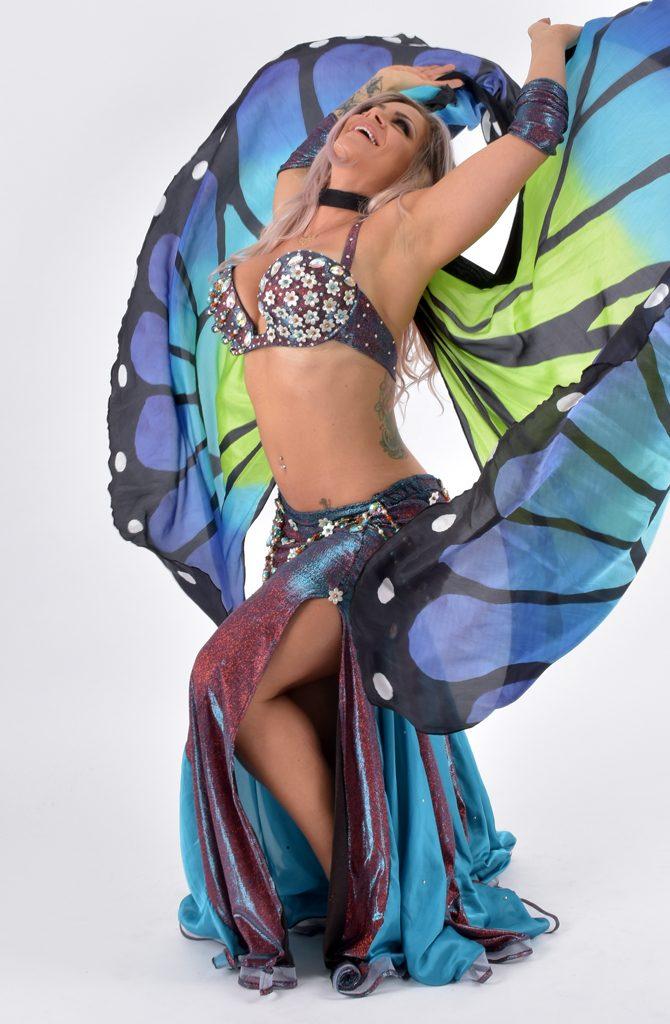 Belly Dance Costume - Metamorphosis by Yasmin