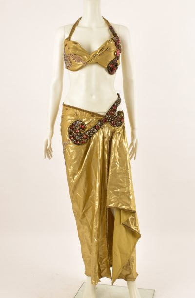 Preloved Belly Dance Costume - Gold Hallah Mustafa