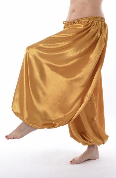 Pantaloon / Harem Pants - Gold