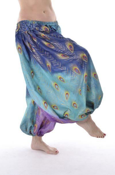 Pantaloon / Harem Pants - Turquoise Peacock