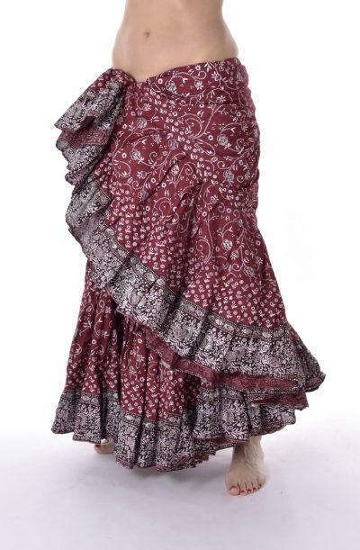 Jodha Maharani Skirt - Mulberry
