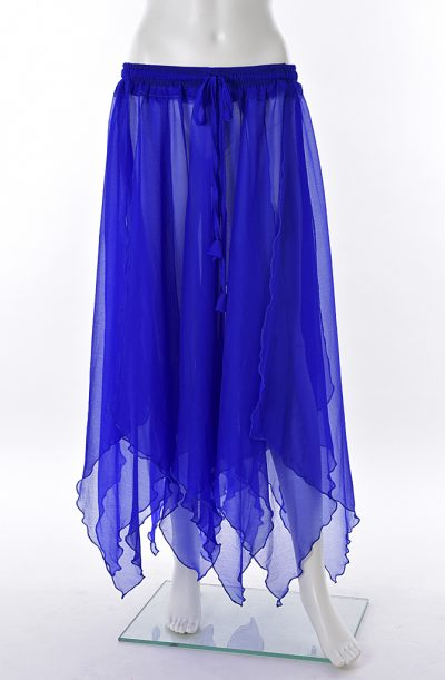 Chiffon Petal Skirt - Blue