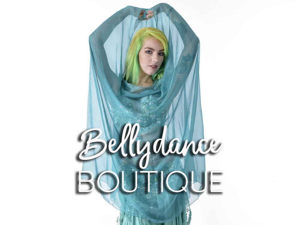 Belly Dance Chiffon Veils