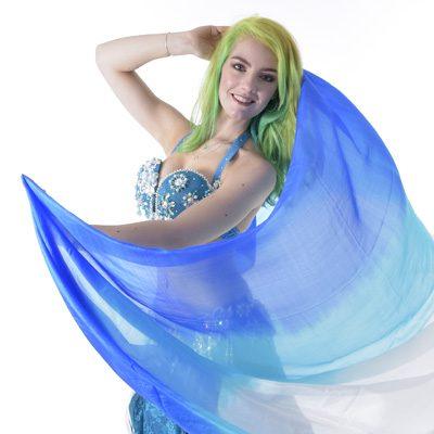 Belly Dance Silk Veils