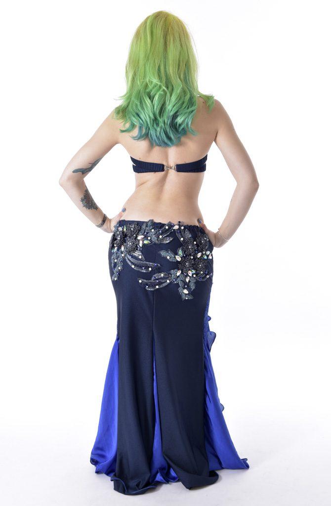 Belly Dance Costume - Black Sapphire