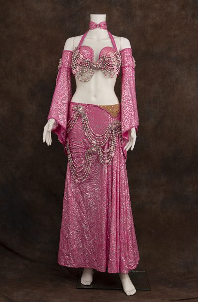 Pre-Loved Belly Dance Costume - Pink Eman Zaki