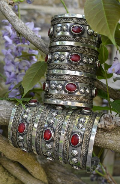 Tribal Cuffs (Pair)- 3 Row