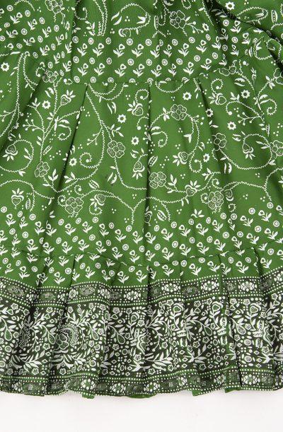 Jodha Maharani Skirt - Green