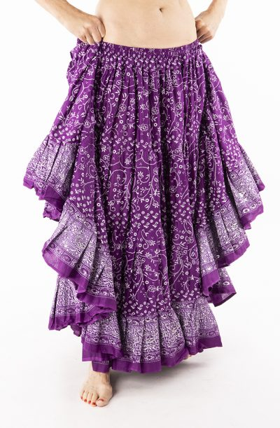 Jodha Maharani Skirt - Purple