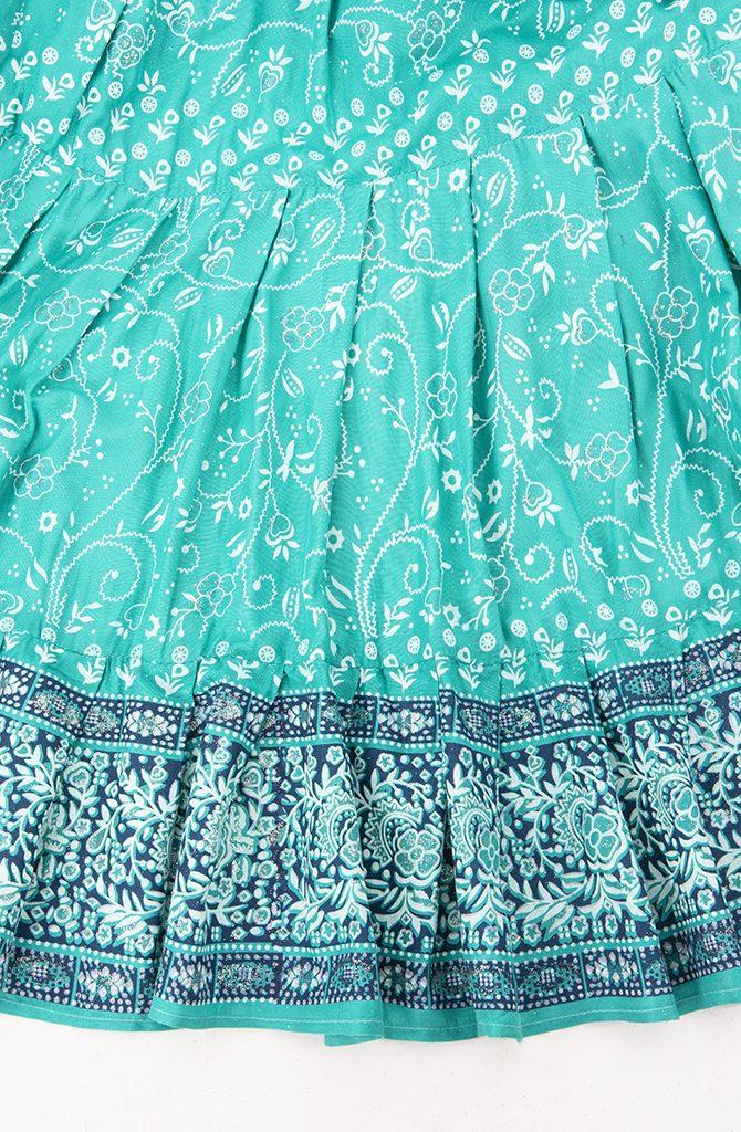 Jodha Maharani Skirt - Sea Green