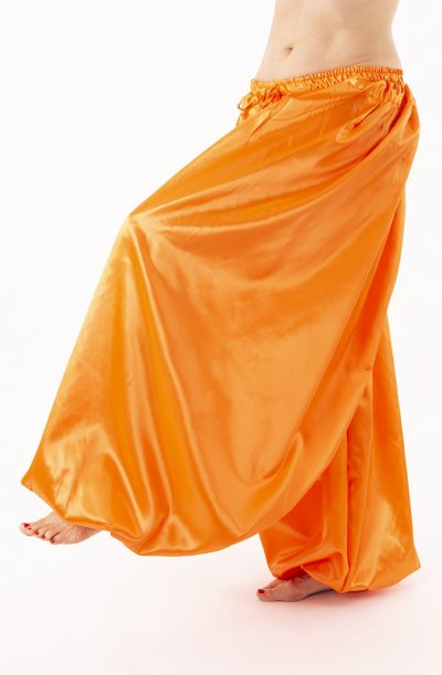 Pantaloon / Harem Pants - Orange